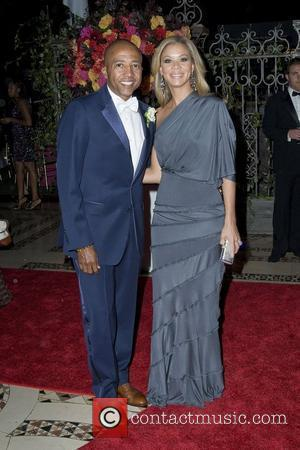 Kevin Liles and Erika Liles 2010 New Yorkers For Children Fall Gala held at Cipriani 42nd Street New York City,...