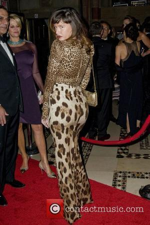 Paz De La Huerta 2010 New Yorkers For Children Fall Gala held at Cipriani 42nd Street New York City, USA...