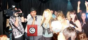 Ne-Yo  performs on stage with Izabella Miko at his VMA party sponsored by blackberry Los Angeles, California - 11.09.10