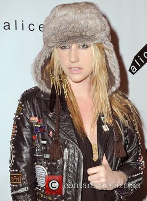 Ke$ha Mercedes-Benz IMG New York Fashion Week Fall 2010 - Alice + Olivia Show - Arrivals  New York City,...