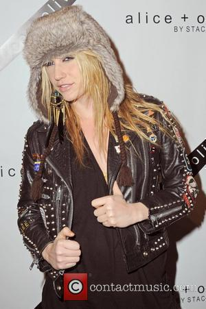 Ke$ha  Mercedes-Benz IMG New York Fashion Week Fall 2010 - Alice + Olivia Show - Arrivals  New York...