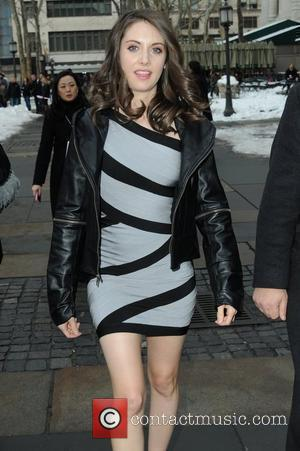 Alison Brie Mercedes-Benz IMG New York Fashion Week Fall 2010 - celebrities at Bryant Park  New York , USA...