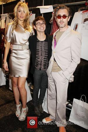 Katrina Bowden, Christian Siriano and Alan Cummings Mercedes-Benz IMG New York Fashion Week Spring/Summer 2011 - Christian Siriano - backstage...