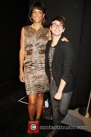 Veronica Webb and Christian Siriano Mercedes-Benz IMG New York Fashion Week Spring/Summer 2011 - Christian Siriano - backstage New York...