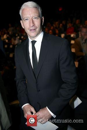 Anderson Cooper and Diane Von Furstenberg