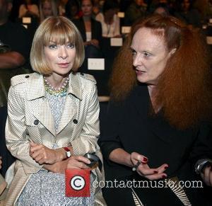 Anna Wintour and Diane Von Furstenberg