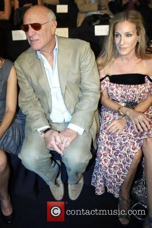 Barry Diller, Sarah Jessica Parker Mercedes-Benz IMG New York Fashion Week Spring/Summer 2011 - Diane Von Furstenberg - Front Row...