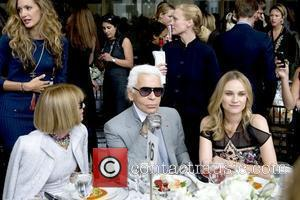 Anna Wintour, Diane Kruger, Karl Lagerfeld and The Fashion