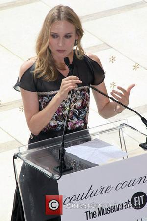 Diane Kruger, Karl Lagerfeld and The Fashion