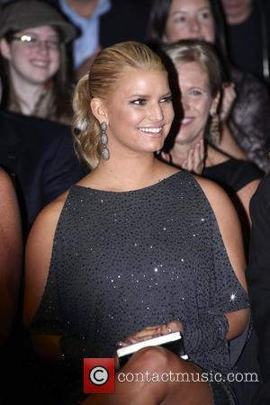 Jessica Simpson Mercedes-Benz IMG New York Fashion Week Spring/Summer 2011 - Project Runway - Front Row New York City, USA...