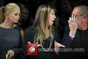 Jessica Simpson, Michael Kors and Nina Garcia