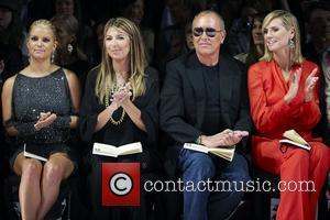 Jessica Simpson, Heidi Klum, Michael Kors and Nina Garcia