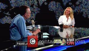 Pamela Anderson, Cnn, Dancing With The Stars and Larry King