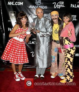 Cirque Du Soleil's Beatles Love 2010 NHL Awards red carpet arrivals held at The Palms Hotel Casino in Las Vegas...