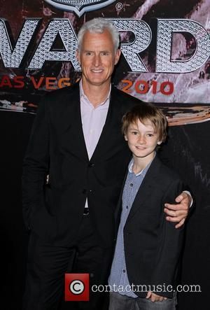 John Slattery and his son Harry 2010 NHL Awards red carpet arrivals held at The Palms Hotel Casino in Las...