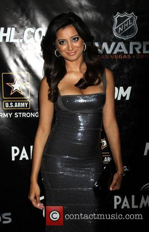 Noureen DeWulf 2010 NHL Awards red carpet arrivals held at The Palms Hotel Casino in Las Vegas Las Vegas, USA...