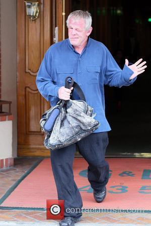 Nick Nolte  exits a medical building in Beverly Hills after having some of his teeth extracted. Los Angeles, California...