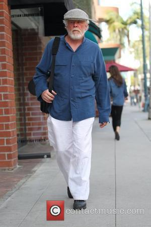 Nick Nolte sporting a full beard as he shops in Hollywood Los Angeles, California - 29.10.10