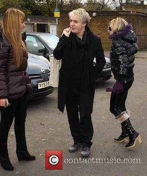 Nick Rhodes arrives at a West London studio  London, England - 29.11.10