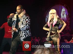 Busta Rhymes and Nicki Minaj Nicki Minaj performs live at the Hammerstein Ballroom with friends New York City, USA -...