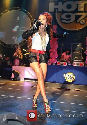 Keyshia Cole Nicki Minaj performs live at the Hammerstein Ballroom with friends New York City, USA - 25.11.10
