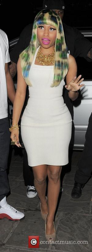 nicki minaj in london 2011. Nicki Minaj arrives at the