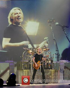 Chad Kroeger and Nickelback