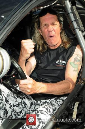 Iron Maiden drummer Nicko McBrain  celebrates the grand opening of his restaurant 'Rock and Roll Ribs' in Coral Springs,...