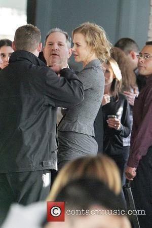 Nicole Kidman and Harvey Weinstein