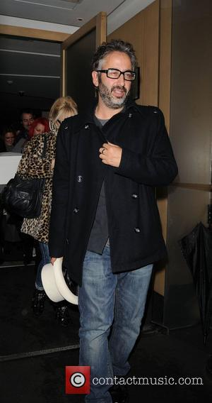 David Baddiel,  at Nobu restaurant London, England - 17.11.10
