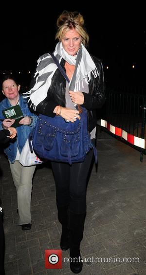 Rachel Hunter arrives at Nobu resaturant London, England - 13.05.10