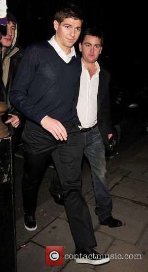 Steven Gerrard leaving Nobu restaurant London, England - 15.01.11