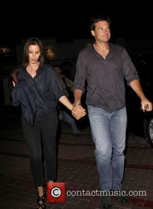 Jason Bateman and His Wife