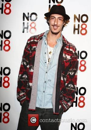 Eric Balfour NOH8 Campaign 2nd Anniversary Celebration held at Wonderland Hollywood, California - 13.12.10