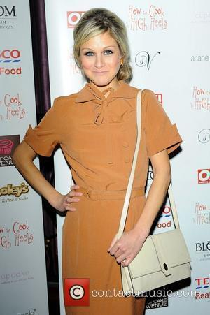 Nikki Grahame ,  at the 'How To Cook In High Heels' book launch party held at Studio Valbonne. London,...