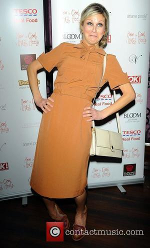 Nikki Grahame,  at the 'How To Cook In High Heels' book launch party held at Studio Valbonne. London, England...
