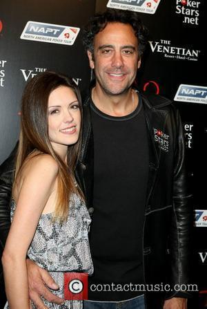 Brad Garrett and guest Celebrities at PokerStars.net North American Poker Tour At The Venetian to support Local Vegas Charity inside...
