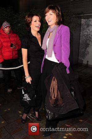 Natasha Kaplinsky and Fiona Bruce