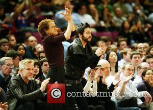 Matthew Modine and Pete Wentz