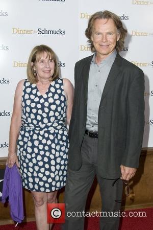 Bruce Greenwood and guest  The NY movie premiere of 'Dinner For Schmucks' at the Ziegfeld Theatre - Inside Arrivals...