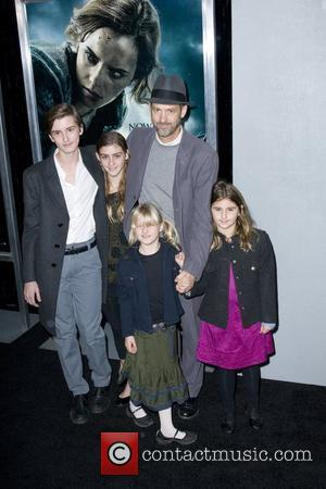 Anthony Edwards and family  The premiere of 'Harry Potter and the Deathly Hallows - Part 1' at Alice Tully...