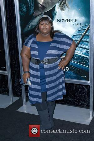 Gabourey Sidibe and Harry Potter