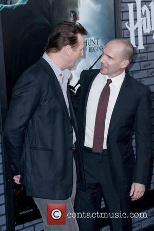 Liam Neeson and Ralph Fiennes  The premiere of 'Harry Potter and the Deathly Hallows - Part 1' at Alice...