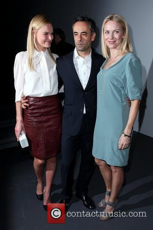 Kate Bosworth, Calvin Klein and Francisco Costa