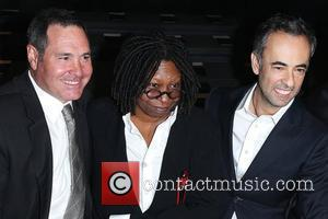 Whoopi Goldberg, Calvin Klein and Francisco Costa