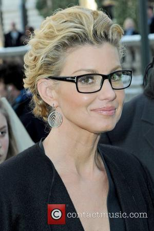 Faith Hill Mercedes-Benz IMG New York Fashion Week Fall 2010 - Celebrities at Bryant Park - Outside Arrivals New York...