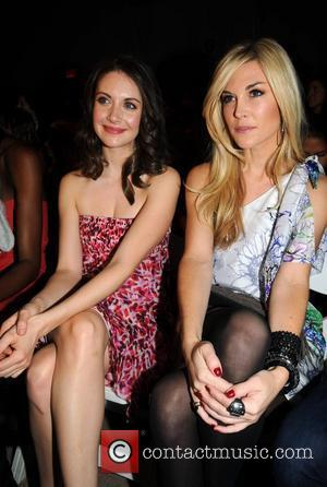 Alison Brie and Tinsley Mortimer  Mercedes-Benz IMG New York Fashion Week Fall 2010 - Luca Luca - Front Row...