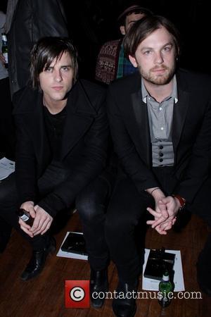 Jared Followill and Caleb Followill Of Kings Of Leon
