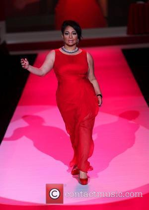 Raven Symone Mercedes-Benz IMG New York Fashion Week Fall 2010 - The Heart Truth's Red Dress Collection 2010 Fashion Show...