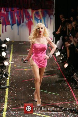 Amanda Lepore Mercedes-Benz IMG New York Fashion Week - the A*MUSE Richie Rich Fashion Show - Runway New York City,...